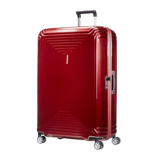 Samsonite NEOPULSE SPINNER 81, 44D-004 in de kleur 00 metallic red 5414847594120