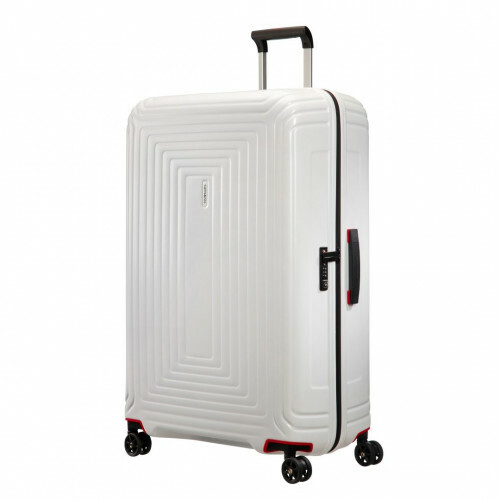 Samsonite NEOPULSE SPINNER 81, 44D-004 in de kleur 15 matte white 5414847686733