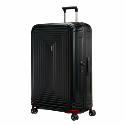 Samsonite NEOPULSE SPINNER 81, 44D-004 in de kleur 19 matte black 5414847686726