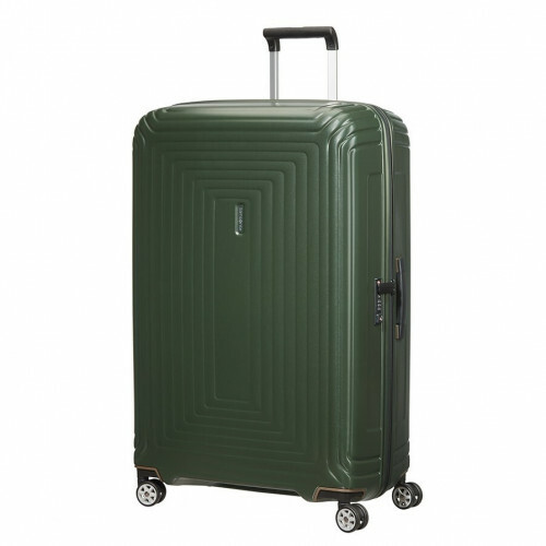 Samsonite NEOPULSE SPINNER 81, 44D-004 in de kleur 24 matte dark olive 5400520022677