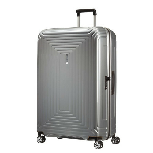 Samsonite NEOPULSE SPINNER 81, 44D-004 in de kleur 25 metallic silver 5414847565762