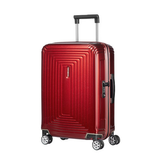 Samsonite NEOPULSE SPINNER 55 WIDTH 23, 44D-005 in de kleur 00 metallic red 5414847847240