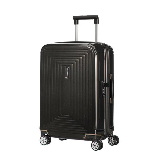 Samsonite NEOPULSE SPINNER 55 WIDTH 23, 44D-005 in de kleur 09 metal.black 5414847847257