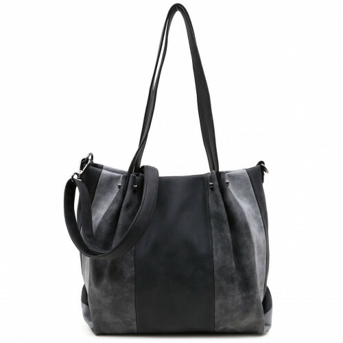 Meier Lederwaren BAG IN BAG SURPRISE, 450 in de kleur 100 black 4049391205577