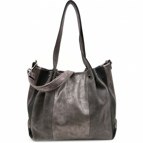 Meier Lederwaren BAG IN BAG SURPRISE, 450 in de kleur 830 silver 4049391205607