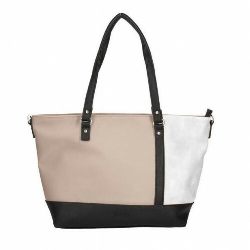 Sina Jo Shopper, 594 in de kleur 903 taupe-white 4049391193898