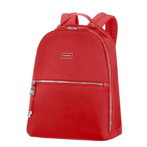 "Samsonite KARISSA BIZZ BACKPACK 14"", 60N-006 in de kleur 40 formula red 5414847768323"