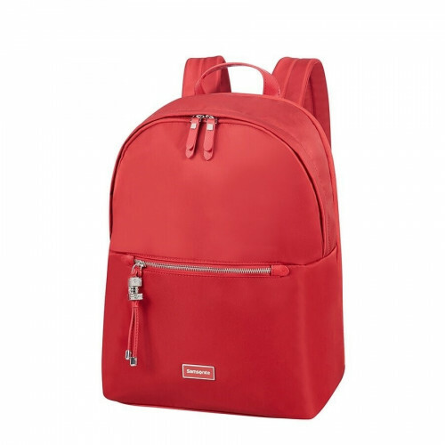 "Samsonite KARISSA BIZZ ROUND BACKPACK 14"", 60N-008 in de kleur 40 formula red 5414847903762"