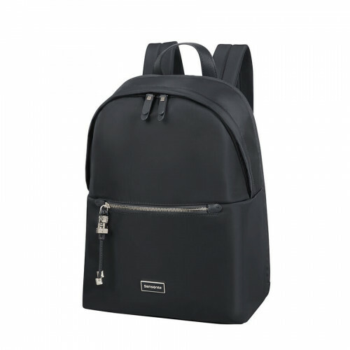 "Samsonite KARISSA BIZZ ROUND BACKPACK 14"", 60N-008 in de kleur 09 black 5414847903779"