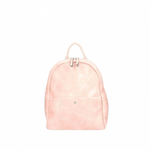 Sina Jo BACKPACK BASIC PU, 633 in de kleur 650 pink 4049391196547