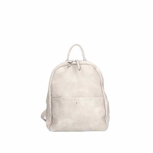Sina Jo BACKPACK BASIC PU, 633 in de kleur 810 light grey 4049391196530