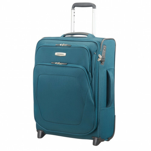 Samsonite SPARK SNG UPRIGHT 55 EXP, 65N-001 in de kleur 11 petrol blue 5414847758140
