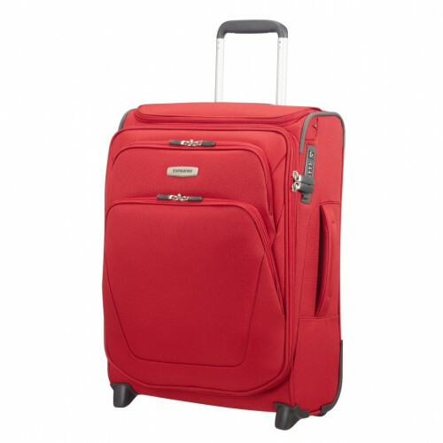 Samsonite SPARK SNG UPRIGHT 55 EXP TOPPOCKET, 65N-002 in de kleur 00 red 5414847758195
