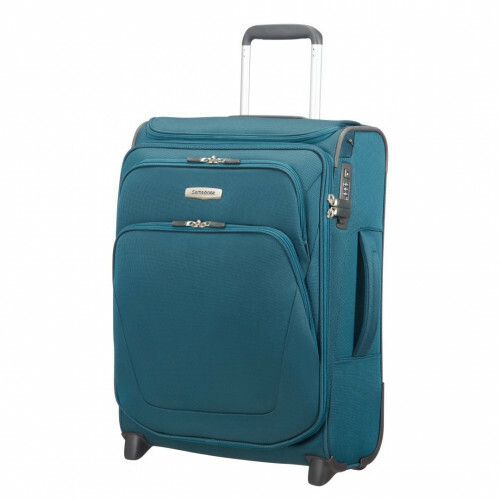 Samsonite SPARK SNG UPRIGHT 55 EXP TOPPOCKET, 65N-002 in de kleur 11 petrol blue 5414847758188