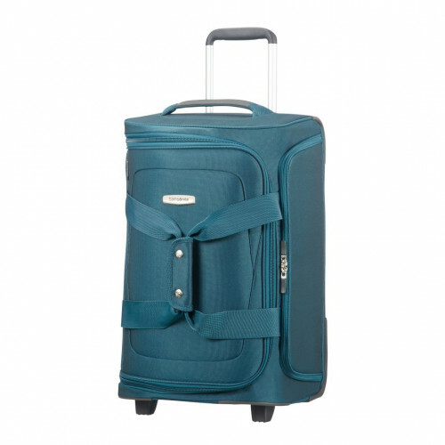 Samsonite SPARK SNG DUFFLE WHEELS 55, 65N-010 in de kleur 11 petrol blue 5414847759000