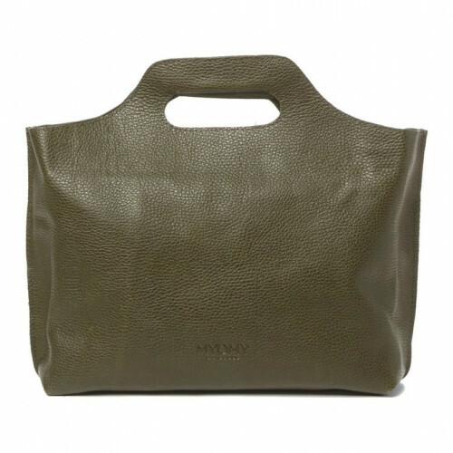 MYOMY MY CARRY BAG CARRY HANDBAG, 8008 in de kleur rambler dark olive 8719075371671