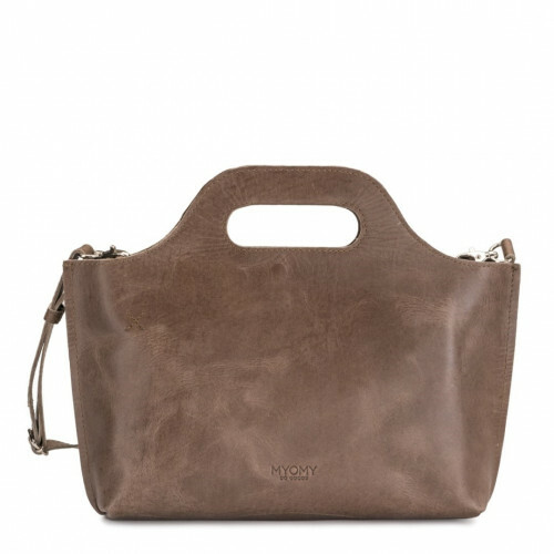 MYOMY MY CARRY BAG CARRY MINI, 8051 in de kleur hunter waxy taupe 8719075379301