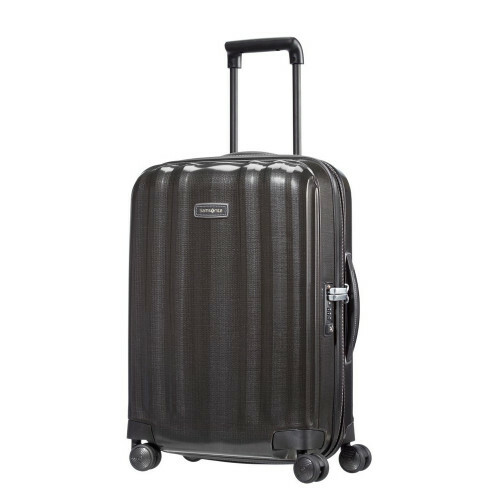 Samsonite LITE-CUBE DLX SPINNER 55, 82V-002 in de kleur 09 black 5414847502446