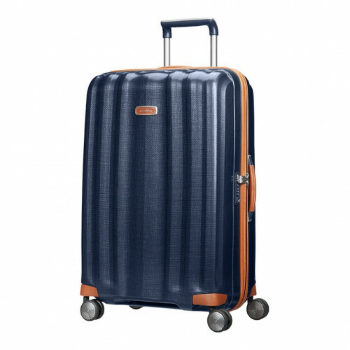 Samsonite LITE-CUBE DLX SPINNER 76, 82V-004 in de kleur 01 midnight blue 5414847633386