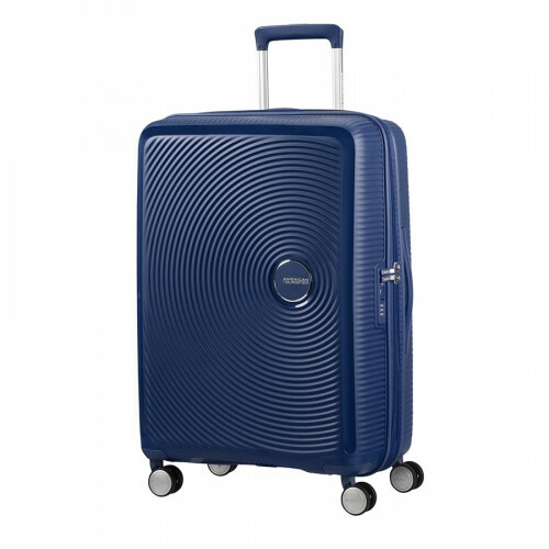 American Tourister SOUNDBOX SPINNER 67 EXP., 32G-002 in de kleur 41 midnight navy 5414847772122