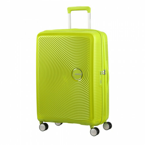 American Tourister SOUNDBOX SPINNER 67 EXP., 32G-002 in de kleur 74 tropical lime 5414847772160