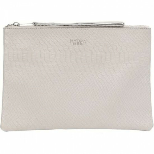 MYOMY ESSENTIALS CLUTCH S, 9060 in de kleur anaconda grey