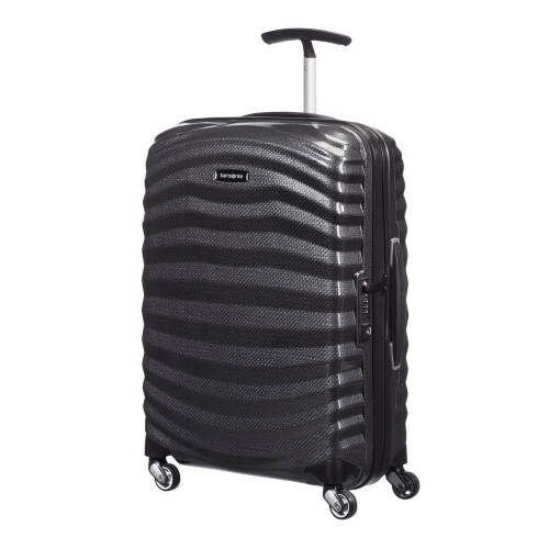 Samsonite LITE-SHOCK SPINNER 55, 98V-001 in de kleur 09 black 5414847523250