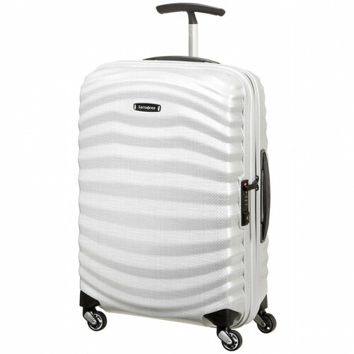 Samsonite LITE-SHOCK SPINNER 55, 98V-001 in de kleur 35 off white 5414847716232
