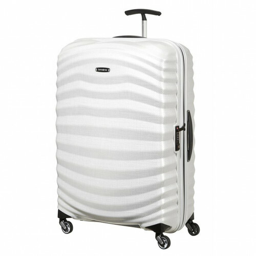 Samsonite LITE-SHOCK SPINNER 75, 98V-003 in de kleur 35 off white 5414847716256