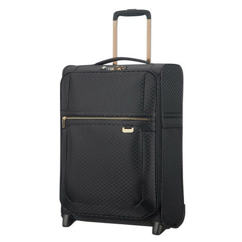 Samsonite UPLITE UPRIGHT 55 L40, 99D-003 in de kleur 19 black-gold 5414847818714
