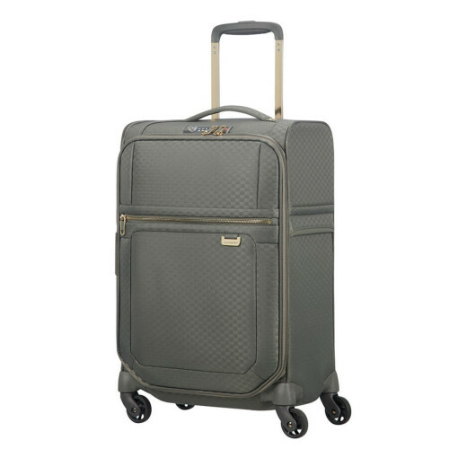 Samsonite UPLITE SPINNER 55, 99D-004 in de kleur 14 gunmetal green-gold 5414847914416