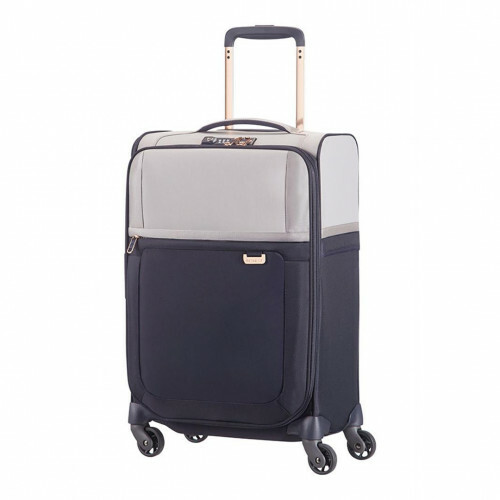 Samsonite UPLITE SPINNER 55 EXP, 99D-005 in de kleur 02 pearl-blue 5414847670152