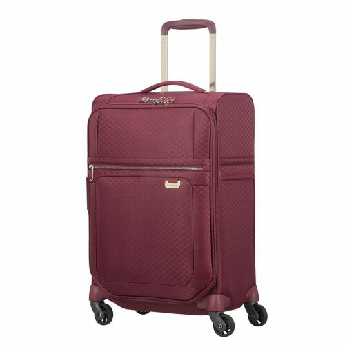 Samsonite UPLITE SPINNER 55 EXP, 99D-005 in de kleur 10 burgundy-gold 5414847914430