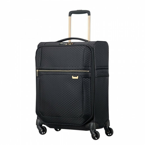 Samsonite UPLITE SPINNER 55 EXP, 99D-005 in de kleur 19 black-gold 5414847818738