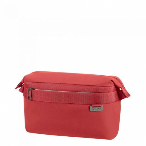 Samsonite UPLITE TOILET CASE, 99D-008 in de kleur 00 red 5414847725494