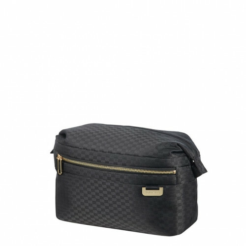 Samsonite UPLITE TOILET CASE, 99D-008 in de kleur 19 black-gold 5414847818769