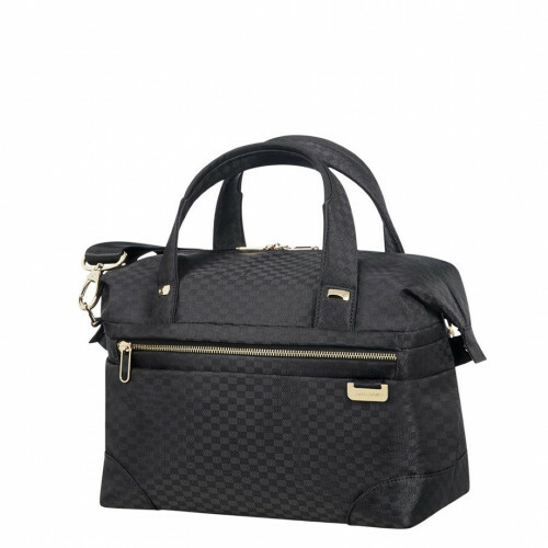 Samsonite UPLITE BEAUTY CASE, 99D-009 in de kleur 19 black-gold 5414847818776