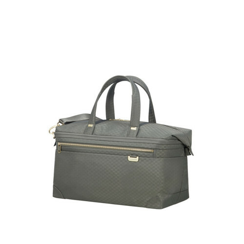 Samsonite UPLITE DUFFLE 45, 99D-010 in de kleur 14 gunmetal green-gold 5414847914591