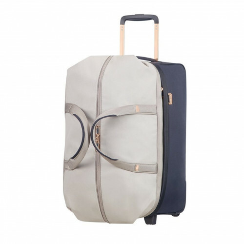 Samsonite UPLITE DUFFLE WHEELS 55, 99D-012 in de kleur 02 pearl-blue 5414847726262