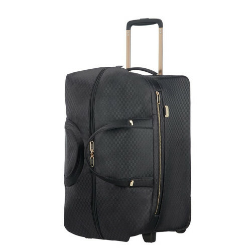 Samsonite UPLITE DUFFLE-WHEELS 55, 99D-012 in de kleur 19 black-gold 5414847818806