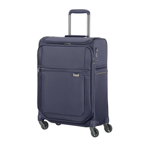 Samsonite UPLITE SPINNER 55 TOPPOCKET, 99D-013 in de kleur 01 blue 5414847765063