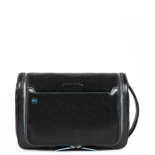Piquadro BLUE SQUARE HANGING TOILETRY BAG, BY3853B2 in de kleur N nero 8024671431194