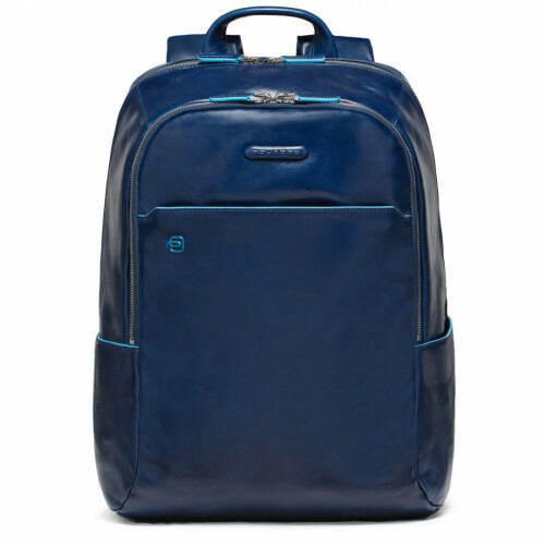 Piquadro BLUE SQUARE COMPUTER BACKPACK, CA3214B2 in de kleur BLU3 blue 8024671390514
