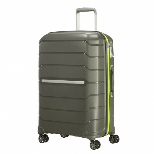 Samsonite FLUX SPINNER 68 EXP, CB0-002 in de kleur 14 dark olive 5400520020307