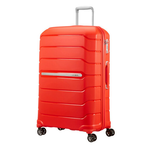 Samsonite FLUX SPINNER 75 EXP, CB0-003 in de kleur 00 tangarine red 5414847773563