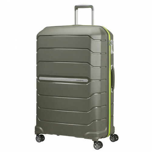Samsonite FLUX SPINNER 81 EXP, CB0-004 in de kleur 14 dark olive 5400520020321