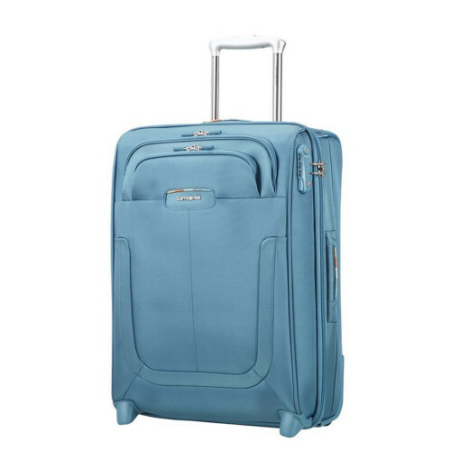 Samsonite Duosphere UPRIGHT 55 EXP. L40, CC6-002 in de kleur 01 niagara blue 5414847815508