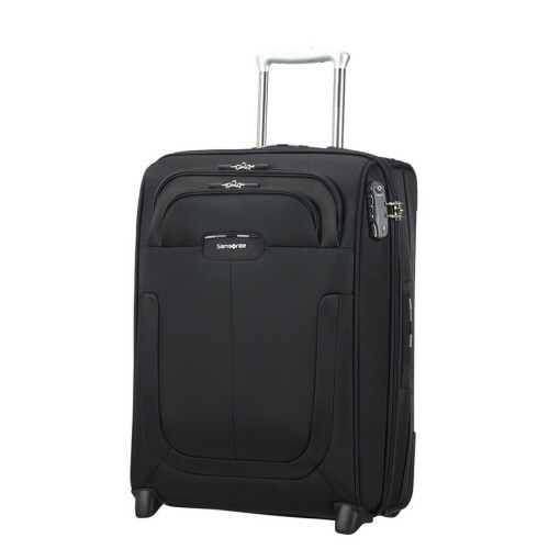 Samsonite Duosphere UPRIGHT 55 EXP. L40, CC6-002 in de kleur 09 black 5414847815478