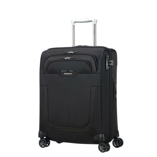 Samsonite Duosphere SPINNER 55 EXP., CC6-003 in de kleur 09 black 5414847815515