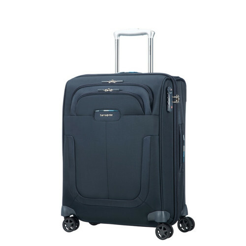Samsonite Duosphere SPINNER 55 EXP., CC6-003 in de kleur 11 dark blue 5414847815522